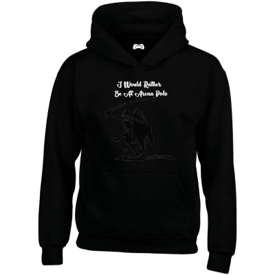 I Would Rather Be At Arena Polo Hoodie