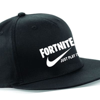 Fortnite Just Play it SNAPBACK NEW Embroidered