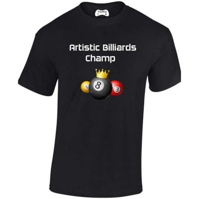 Artistic Billiards Champ T Shirt