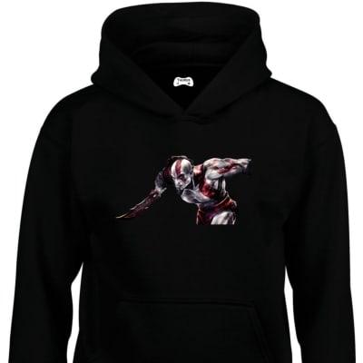 Kratos Classic Gaming Character Hoodie