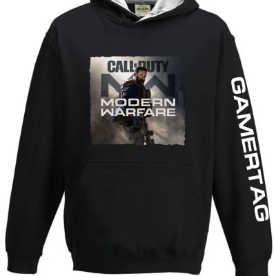 Modern Warefare 2019 Hoodie with Gamer Tag