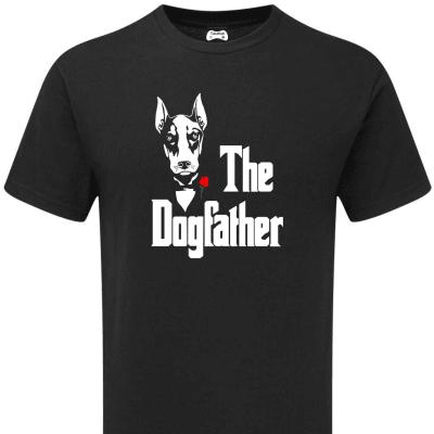 DOBERMANN THE DOGFATHER T-SHIRT