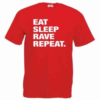 Eat Sleep Rave Repeat T-Shirt