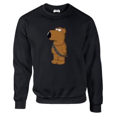 Family Guy Brian As Chewbacca Sweatshirt