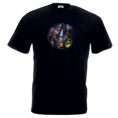 Avengers Infinity War Heroes Logo T-Shirt