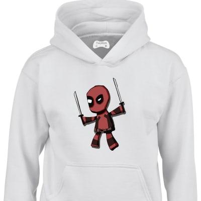 Deadpool Wade Wilson Kids Hoodie
