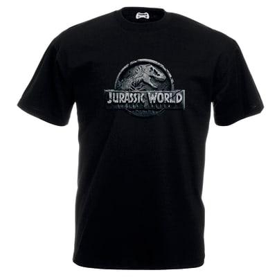 Jurassic World : Fallen Kingdom Black T Shirt
