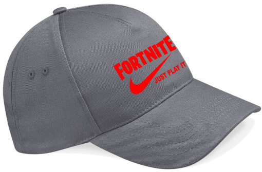 NEW Embroidered Fortnite Just Play it CAP