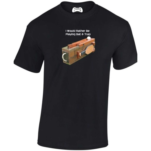 I Would Rather Be Playing Bat & Trap T Shirt