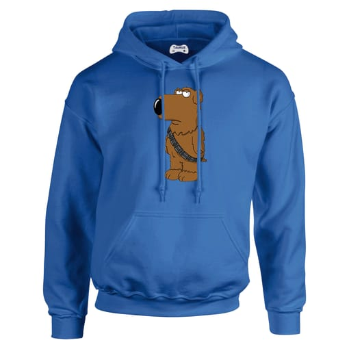 Family Guy Brian As Chewbacca Hoodie