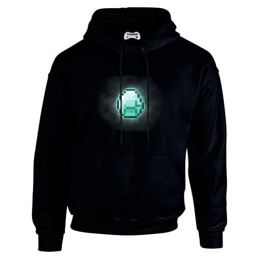 Minecraft diamond hoodie