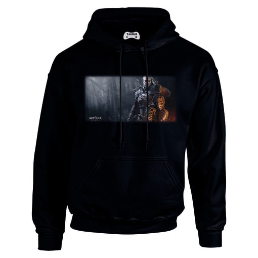 the witcher 3 Three Heads Hoodie
