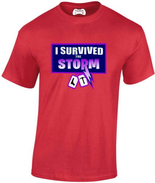Fortnite 'I survived the storm' T-Shirt