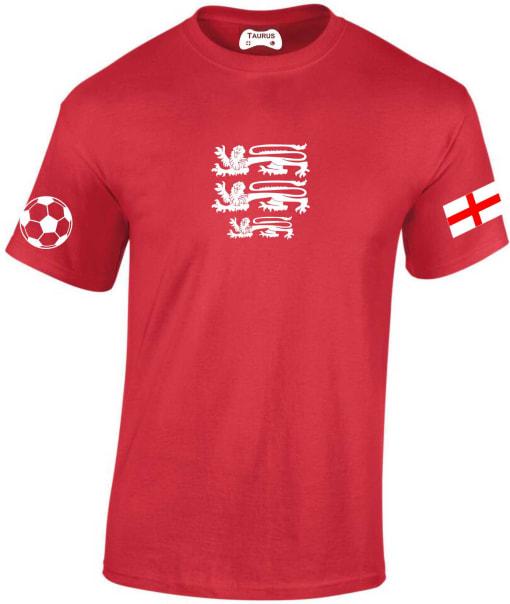 England 3 lions Football T-Shirts
