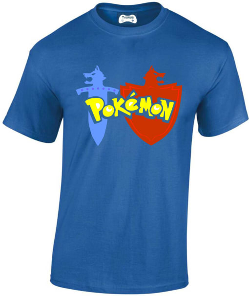 Pokemon Sword and Shield T Shirt