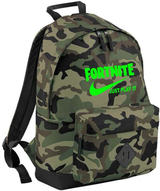 Fortnite Just Play it Rucksack Bag