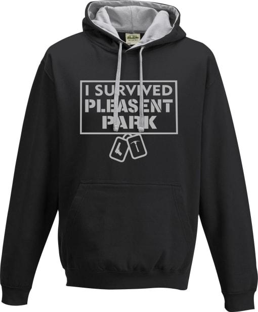 Fortnite 'I survived Pleasent Park' Contrast Hoodie