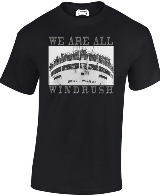 Windrush Black Lives Matter T Shirt