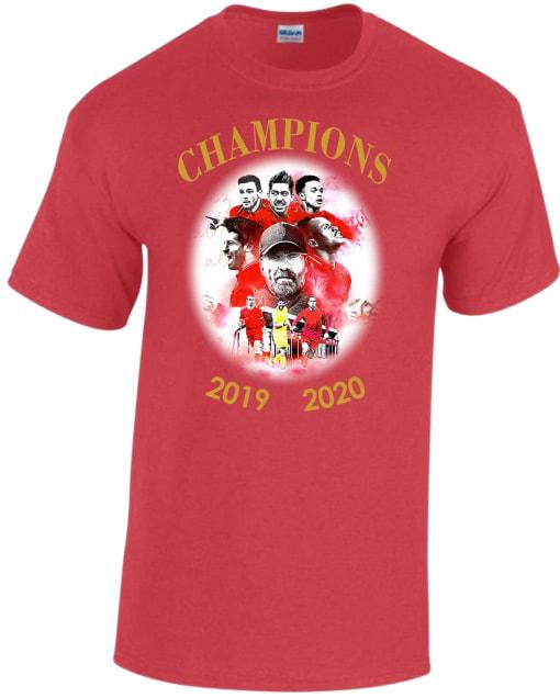 Liverpool Prem Winners Champions T Shirt