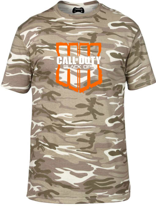 Call of Duty: Black Ops 4 Camo Tshirt