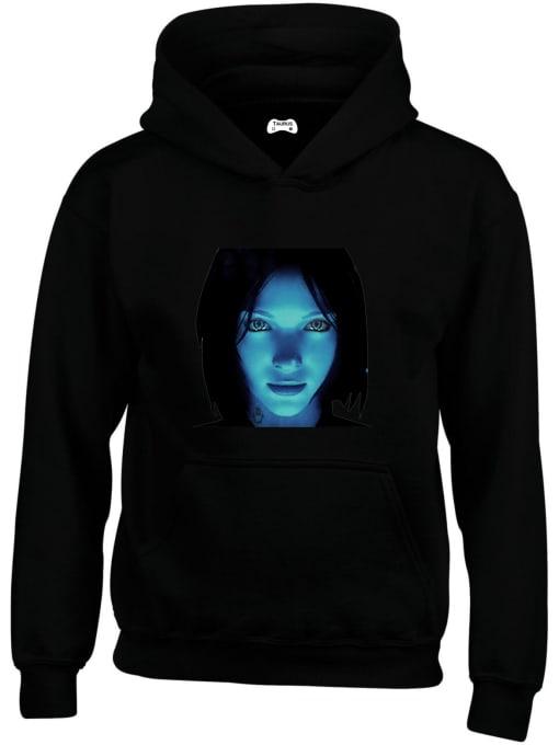 Cortana Classic Gaming Character Hoodie
