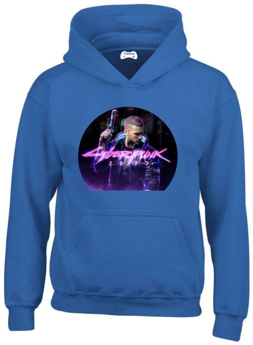Cyberpunk 2077 Hoodie in Blue