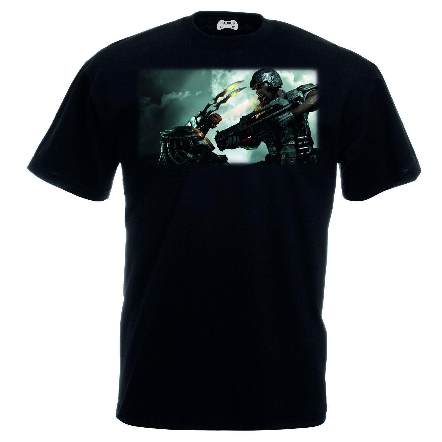 Alien V Predator T-Shirt Predator Down