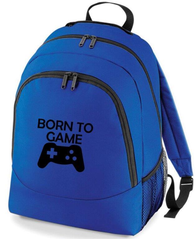 Born To Game Rucksack Bag