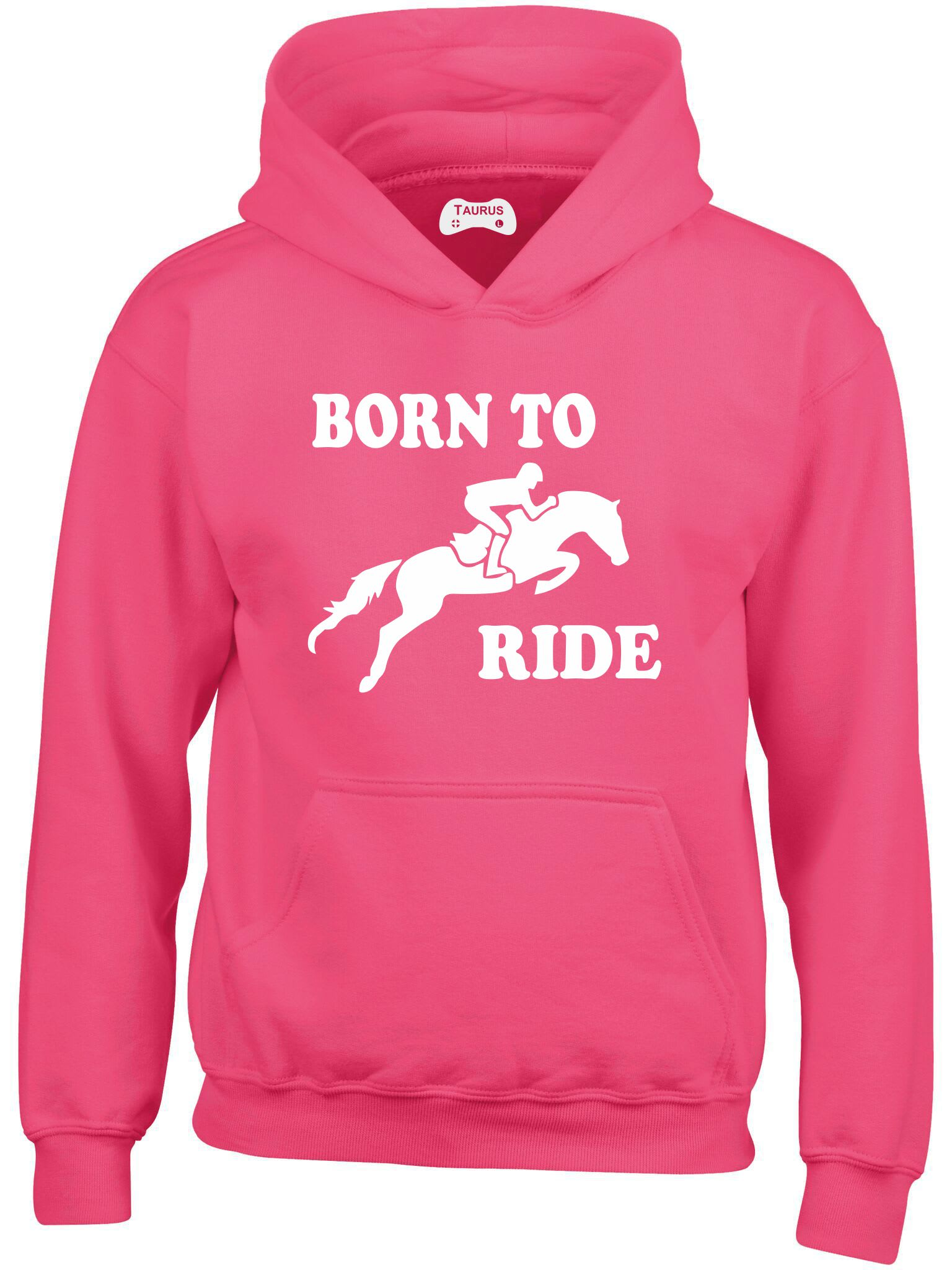 Born To Ride Kids Hoodie