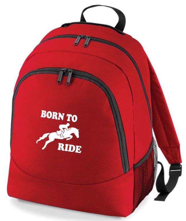 Born To Ride Rucksack Bag