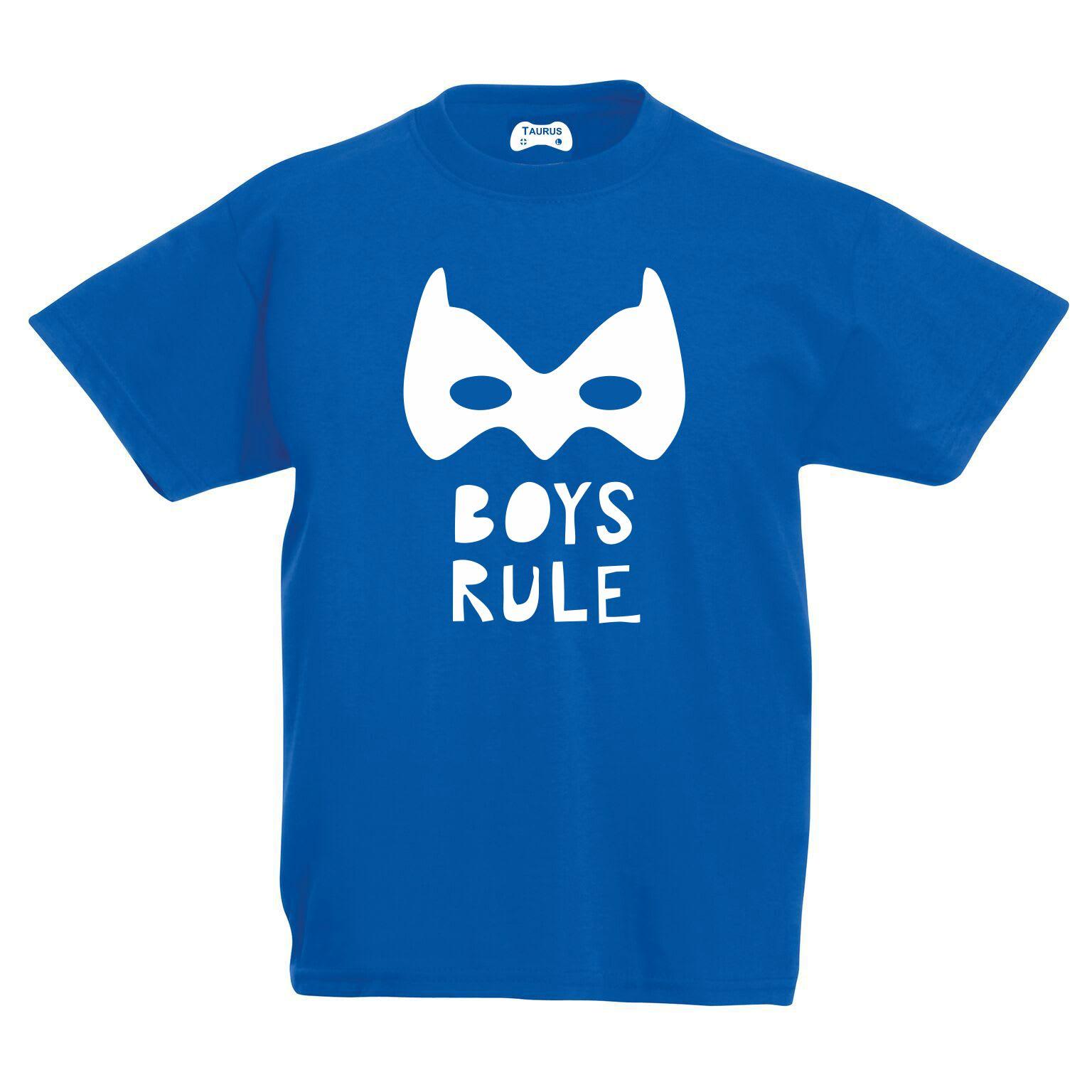 Boys Rule Kids T-Shirt