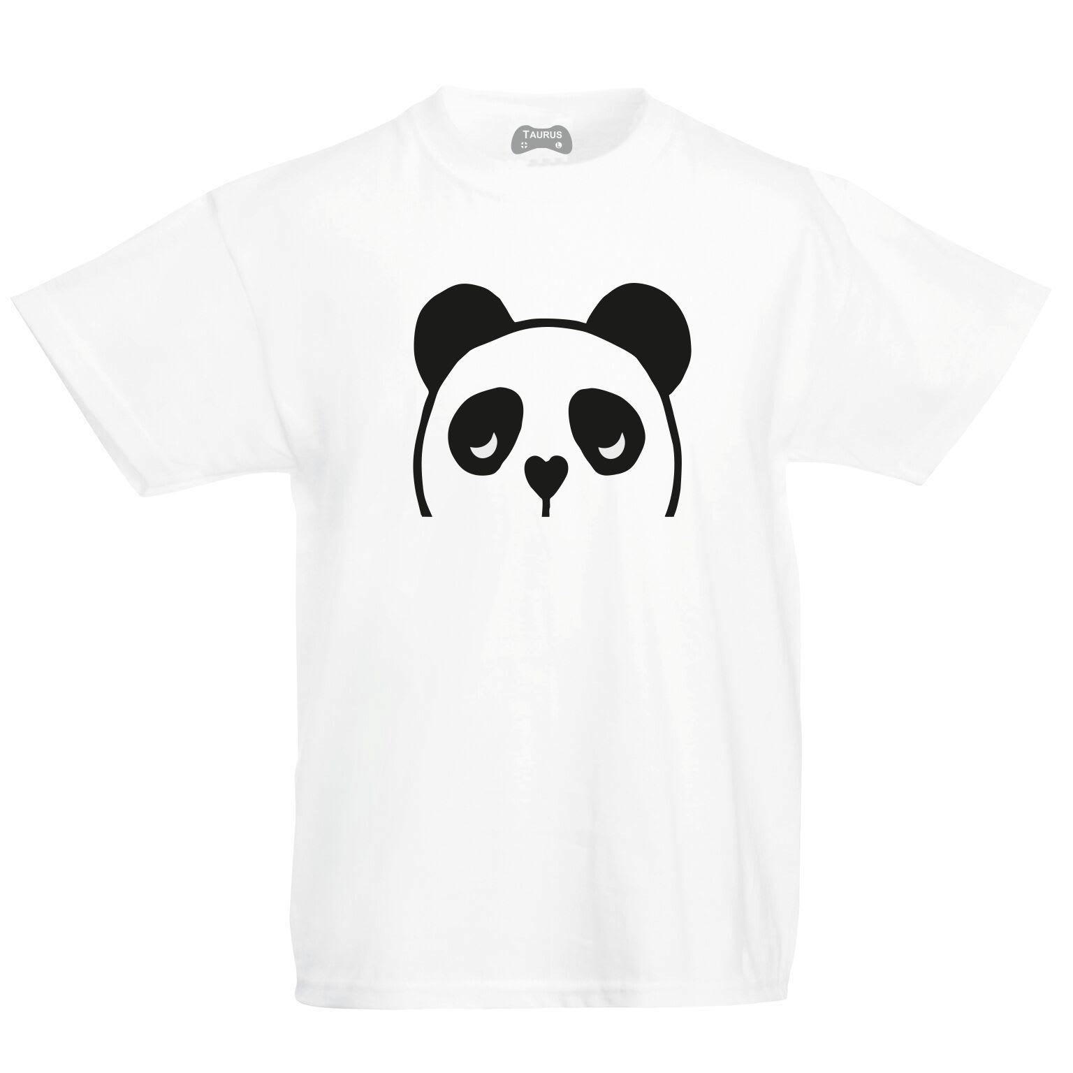 Cute Panda Kids T-Shirt