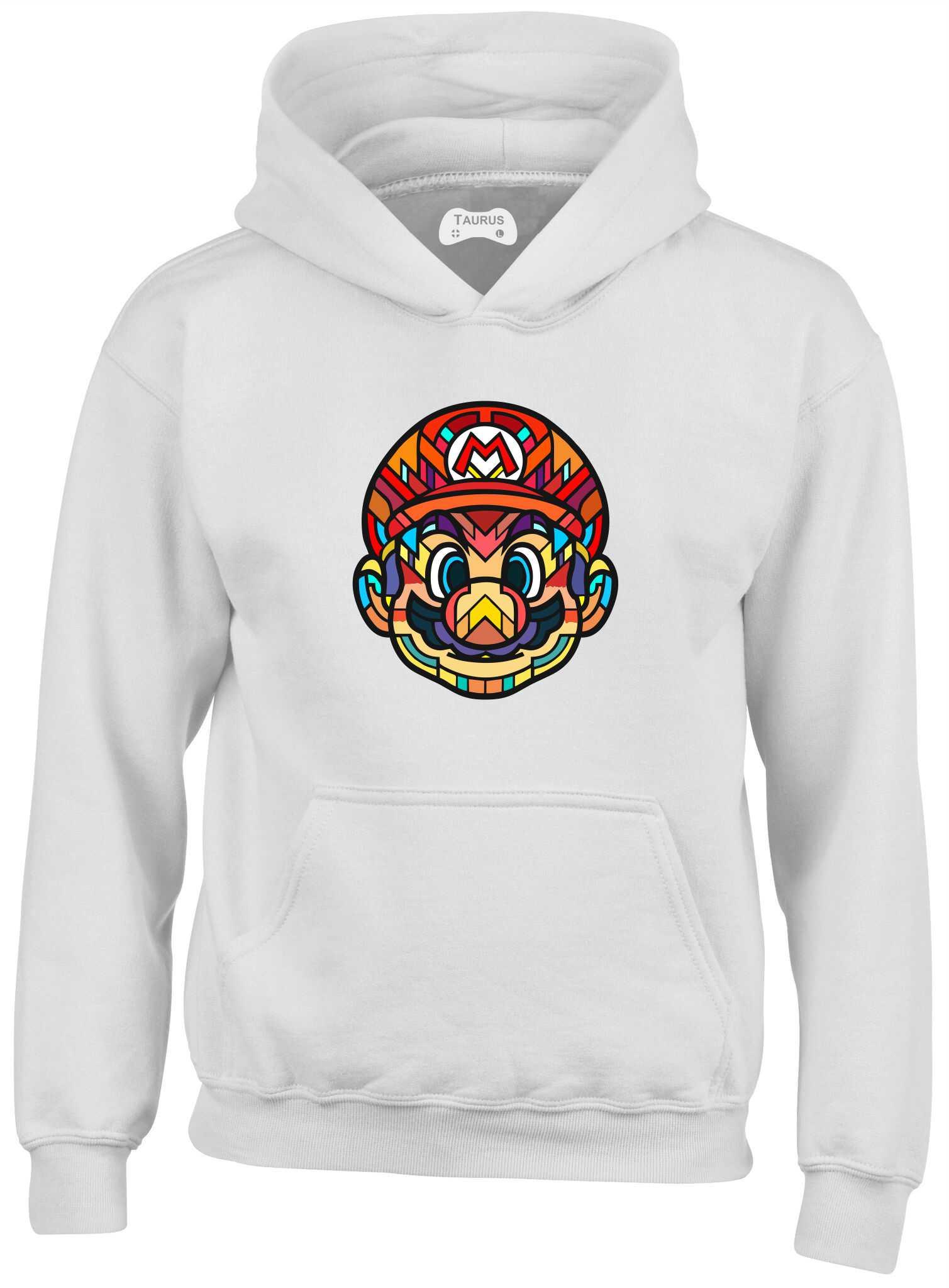 Mario Head Kids Hoodie