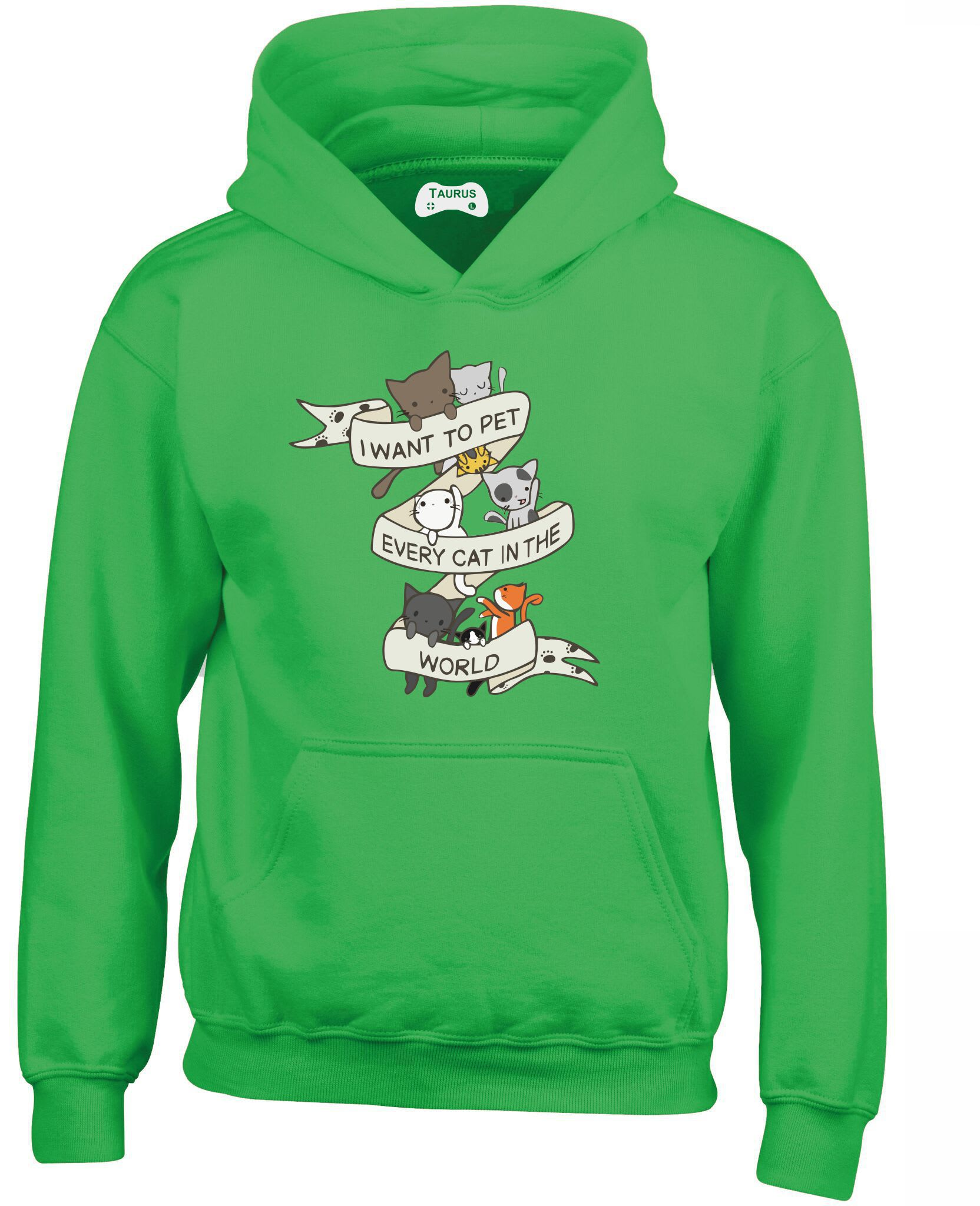 Pet Every Cat Kids Hoodie