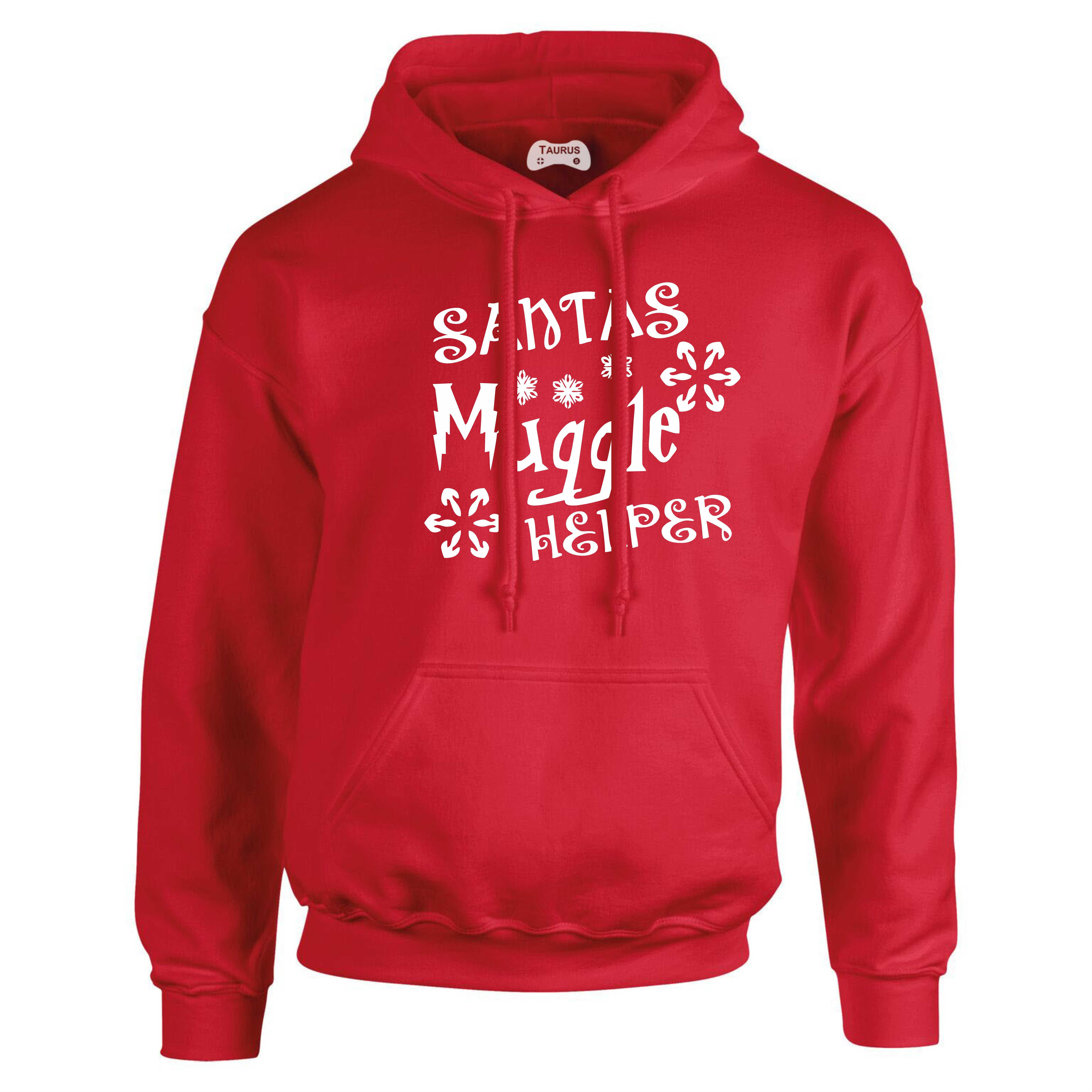 Santa Hoodie Muggle Helper