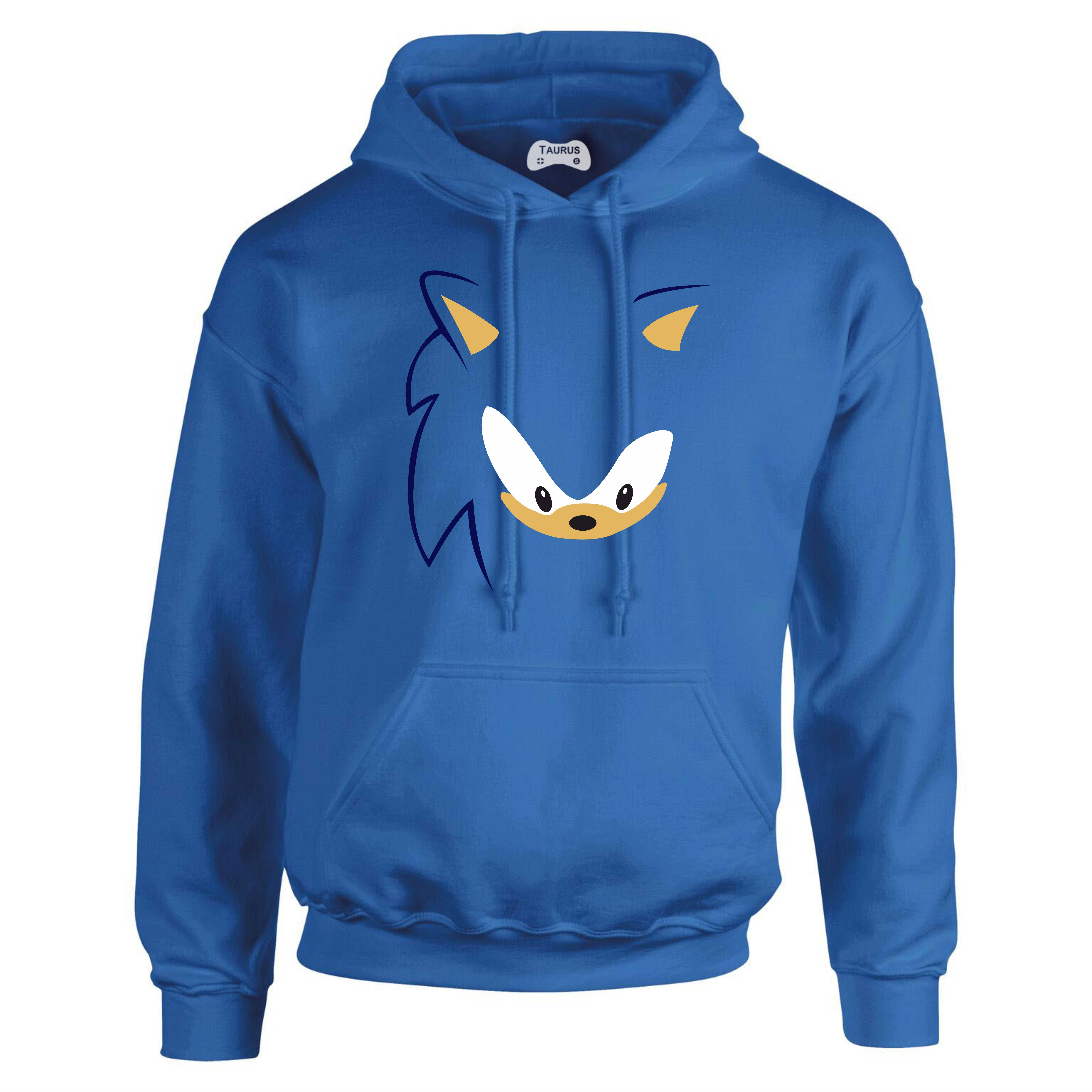 Sonic Hoodie Face