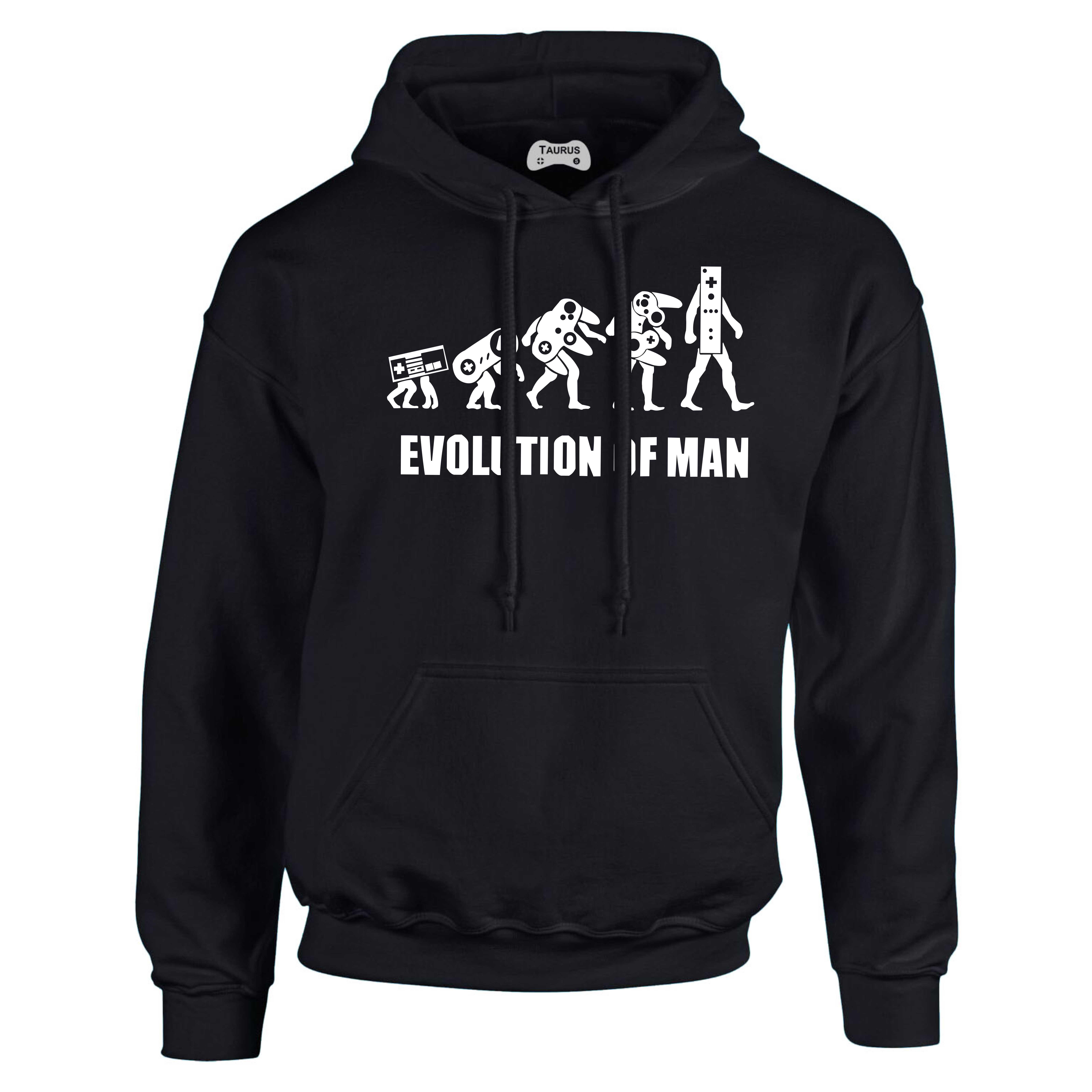 Evolution Of A Man Hoodie