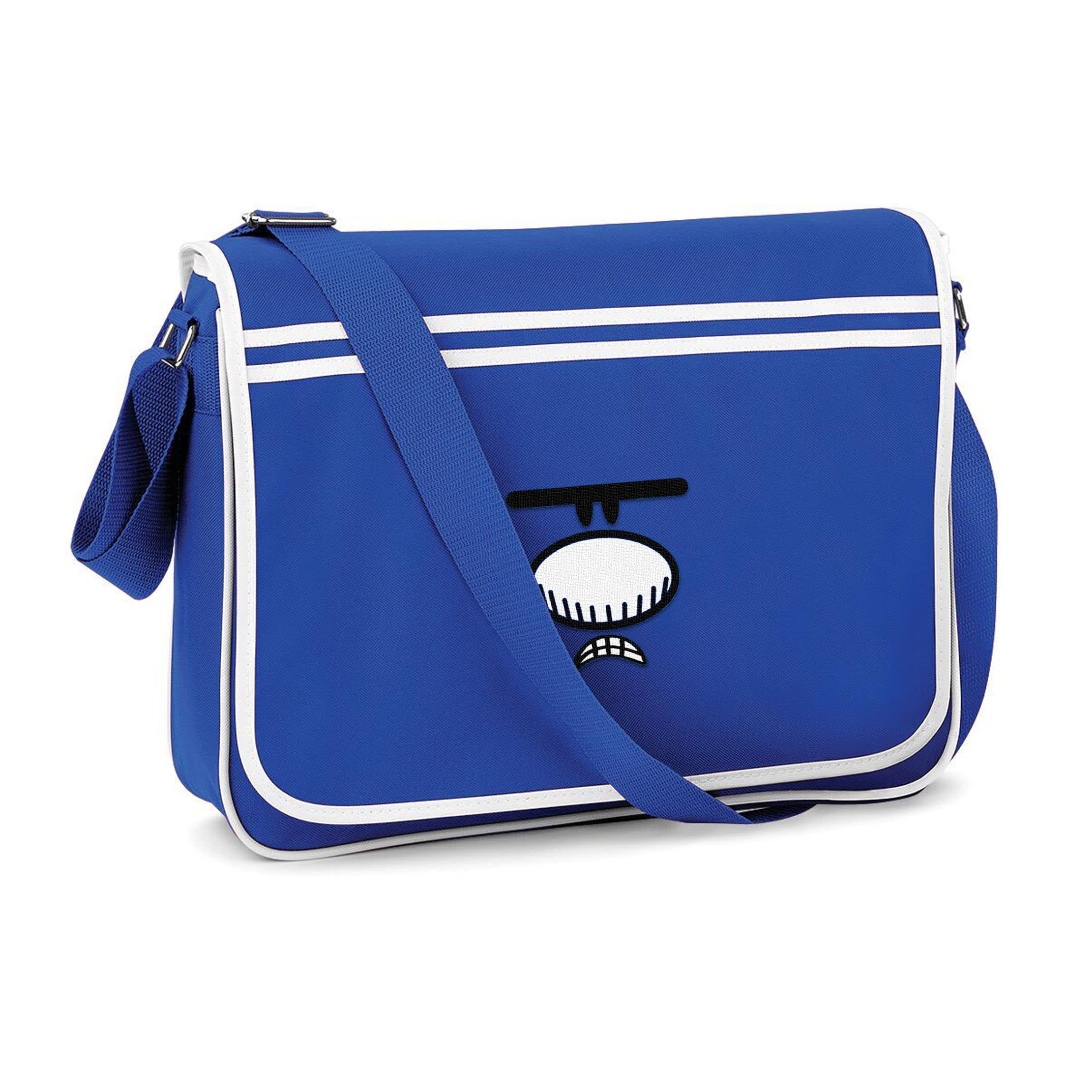 Mr Grumpy Messenger Bag