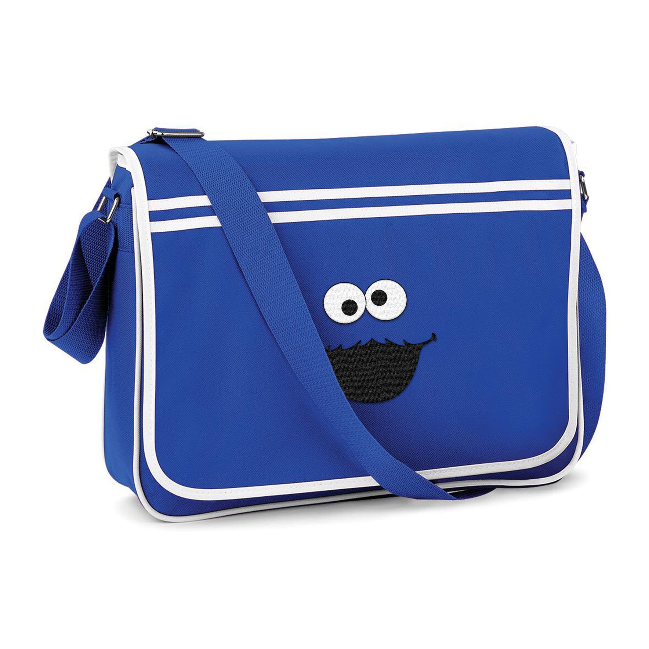 Cookie Monster Messenger Bag