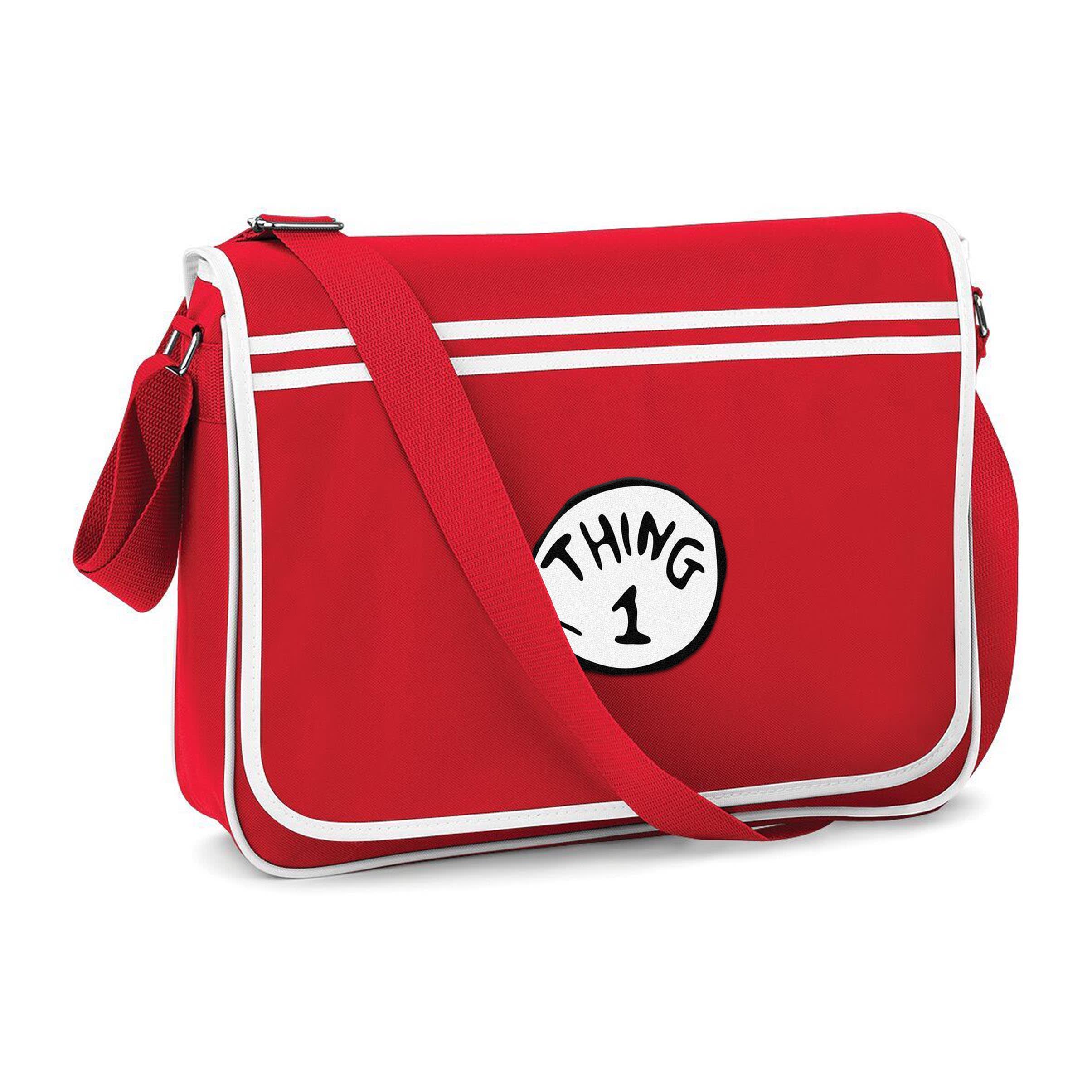 Cat In The Hat Messenger Bag Thing 1