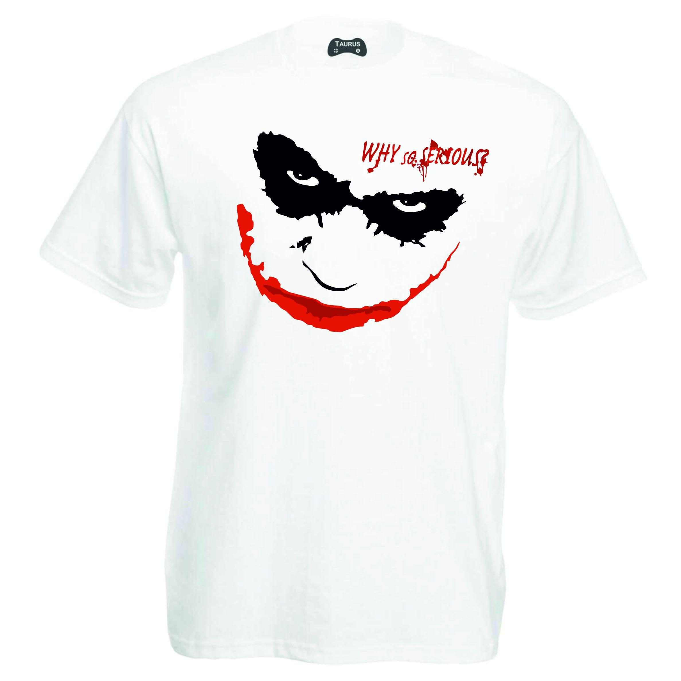 Joker Why So Serious T-Shirt