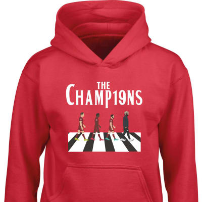 Liverpool  League Winners Hoodie 2019-2020 season crossroad design