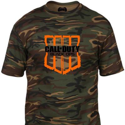 Call of Duty: Black Ops 4 Camo Tshirt