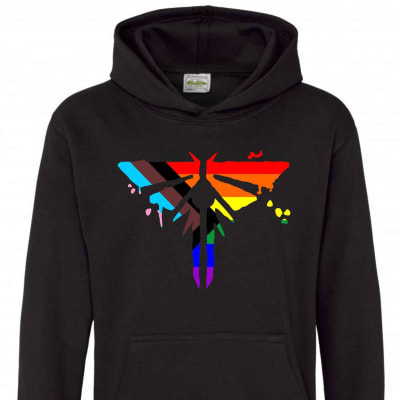 The Last of Us Part 2 Hoodie Pride Progression Firefly