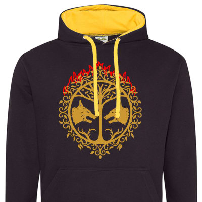Iron Banner Contrast Hoodie Special