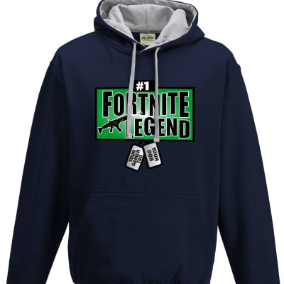 Fortnite 'I survived Tilted Towers' Contrast Hoodie