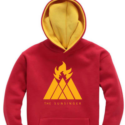 Hunter The Sunsinger Contrast Hoodie Destiny