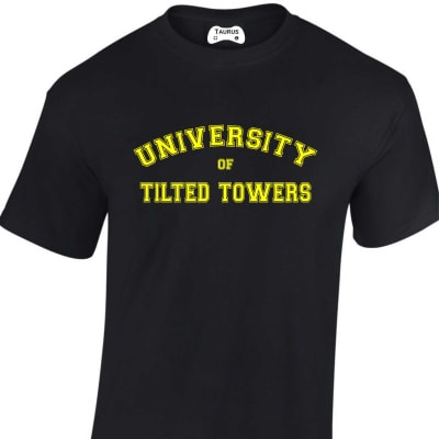 University of Tilted Towers Fortnite T-Shirt