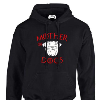 ENGLISH BULLDOG  MOTHER OF DOGS HOODIE