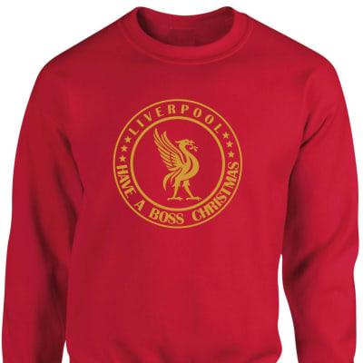 Liverpool Have A Boss Christmas Sweatshirt